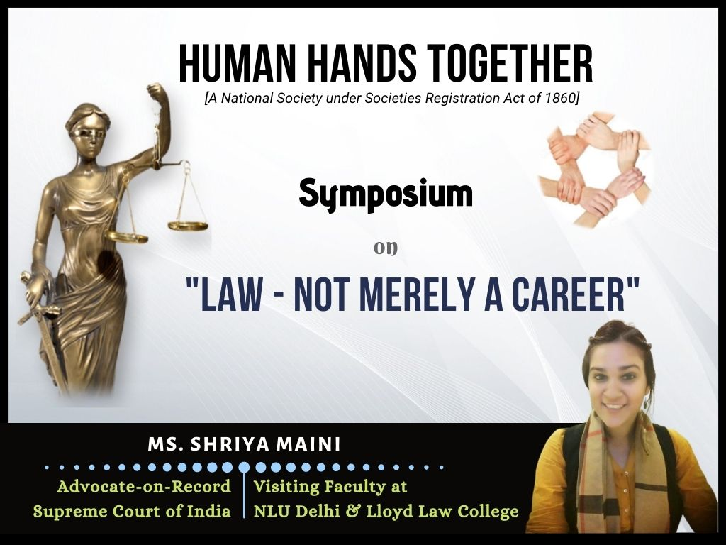 Law Not merely a career