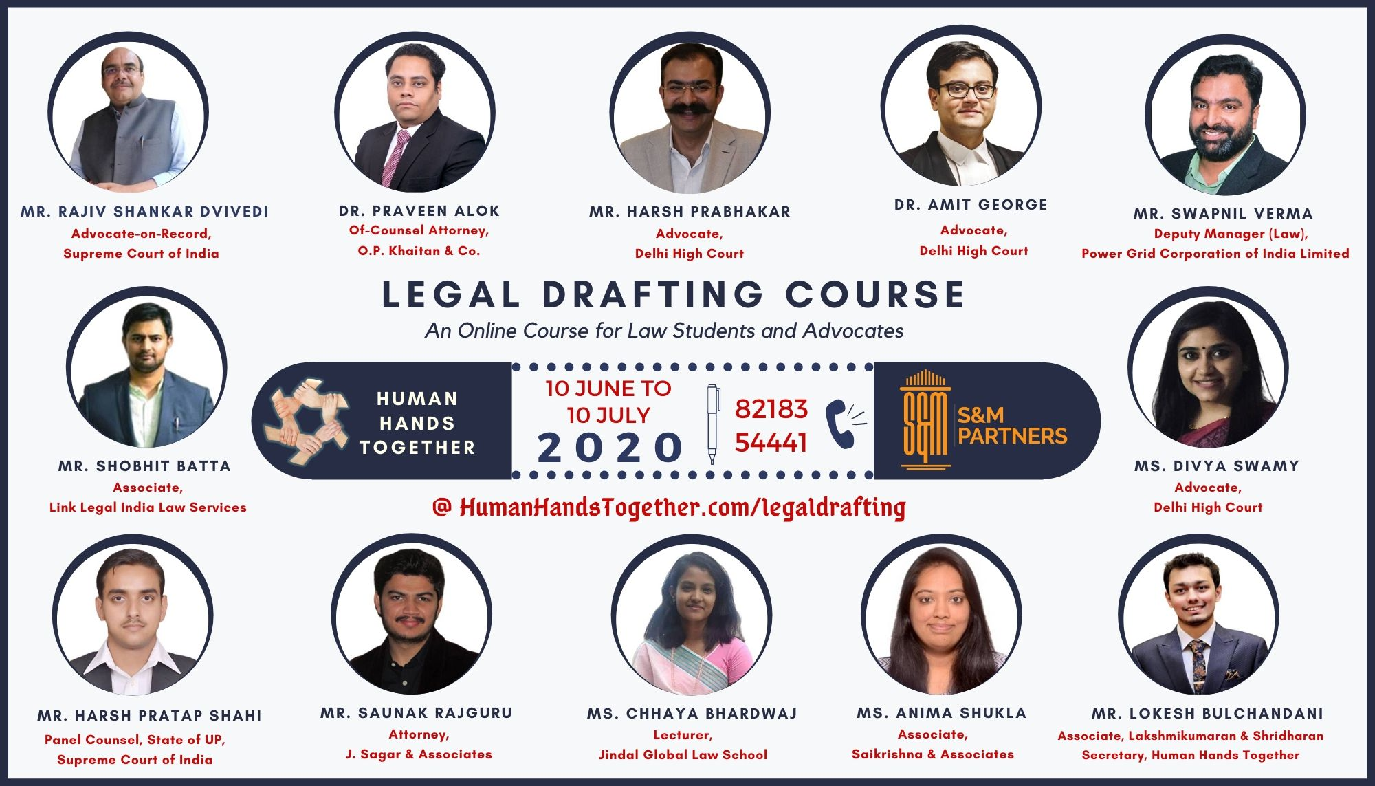 ONLINE LEGAL DRAFTING COURSE